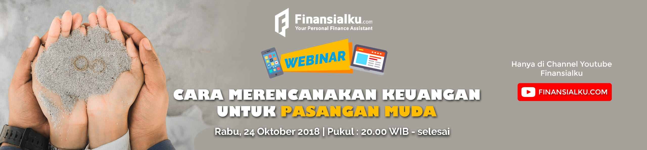 Webinar Cara Merencanakan Keuangan Untuk Pasangan Muda 3