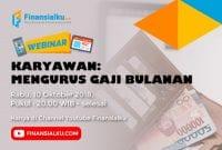 Webinar Karyawan Mengurus Gaji Bulanan