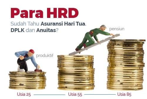 Para HR Sudah Tahu: Asuransi Hari Tua, DPLK dan Anuitas?