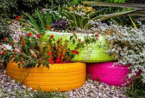 Dekorasi Taman 05 (Flower Bed) - Finansialku