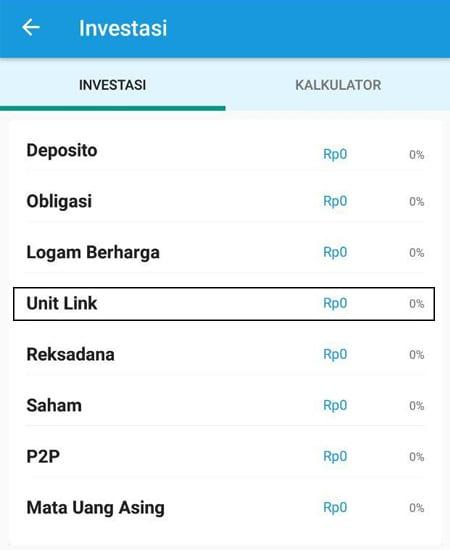 Investasi Unitlink Aplikasi Finansialku 2