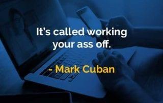Kata-kata Bijak Mark Cuban Bekerja Keras - Finansialku