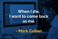 Kata-kata Bijak Mark Cuban Menjadi Seperti Saya Sendiri - Finansialku
