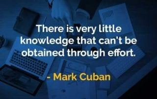 Kata-kata Bijak Mark Cuban Sedikit Pengetahuan - Finansialku