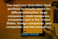 Kata-kata Motivasi Suze Orman Portofolio Saham - Finansialku