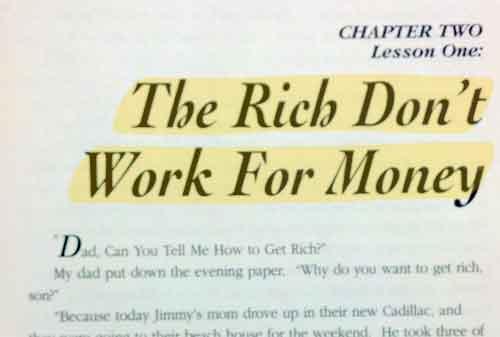 Menambah Penghasilan (Multiple Streams of Income) 3 Rich Dad Poor Dad - Finansialku