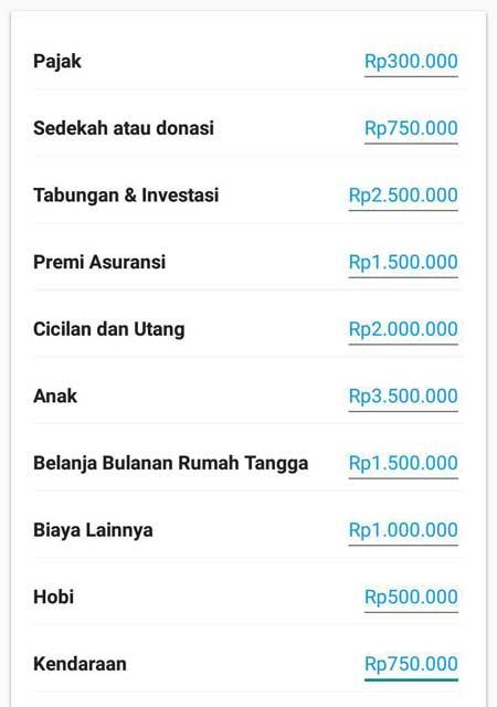 Pendapatan Meningkat Kebutuhan Meningkat 01 Catatan Keuangan Sebelum Naik Gaji