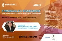 [Event] How to Reach Your Financial Goals Faster in Digital Era - Bali 02