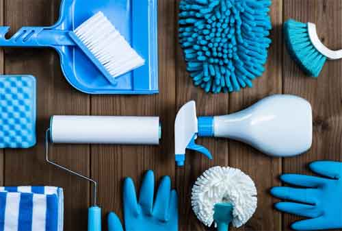 10 Rahasia Membersihkan Rumah dan Rapi Tanpa Ribet 02 Peralatan Bersih - Finansialku