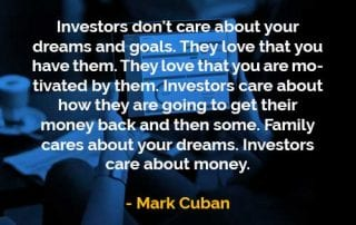 Kata-kata Bijak Mark Cuban Impian dan Tujuan - Finansialku