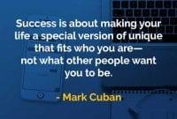 Kata-kata Bijak Mark Cuban Sukses Adalah - Finansialku