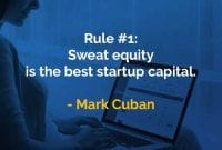 Kata-kata Bijak Mark Cuban Sweat Equity - Finansialku