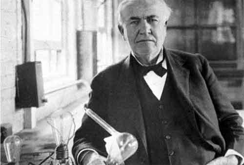 Kata-kata Bijak Thomas Alva Edison yang Penuh Makna Kehidupan 03 - Finansialku