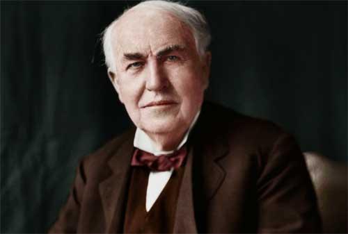 Kata Kata Bijak Thomas Alva Edison Yang Penuh Makna Kehidupan