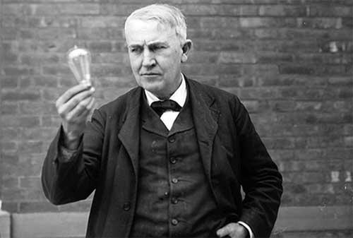 Kata-kata Bijak Thomas Alva Edison yang Penuh Makna Kehidupan 05 - Finansialku
