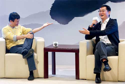 Kisah Sukses Ma Huateng, Pendiri Tencent Group Wechat 04 Jack Ma - Finansialku