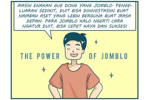 Komik Jomblo vs Pacaran, Mana Yang Lebih Jago Mengatur Keuangan 02 - Finansialku