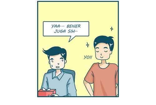 Komik Jomblo vs Pacaran, Mana Yang Lebih Jago Mengatur Keuangan 03 - Finansialku
