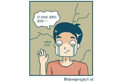 Komik Jomblo vs Pacaran, Mana Yang Lebih Jago Mengatur Keuangan 05 - Finansialku