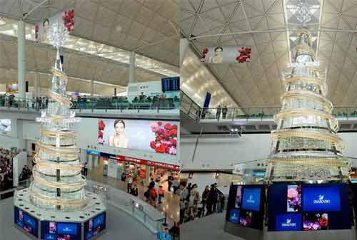 Pohon Natal 09 (Hong Kong Swarovski Crystal Christmas Tree) - Finansialku