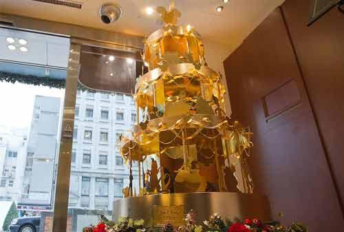 Pohon Natal 10 (Ginza Tanaka Disney Gold Christmas Tree) - Finansialku