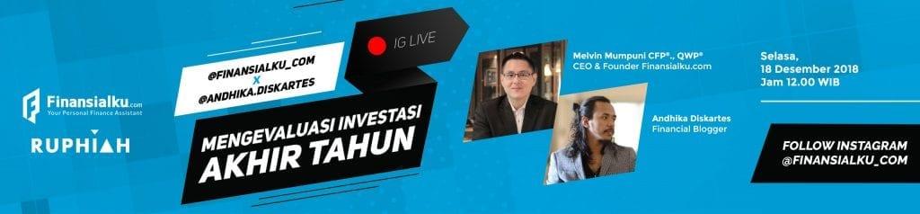Instagram Live investasi Andhika Diskartes web 2