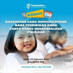 Event Webinar Dana Pendidikan