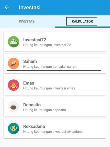Investasi Kalkulator Aplikasi Finansialku 1