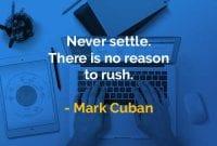 Kata-kata Bijak Mark Cuban Tidak Pernah Menetap - Finansialku