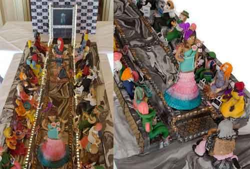 Kue Ulang Tahun Termahal Di Dunia 07 (Fashion Runway Cake) - Finansialku