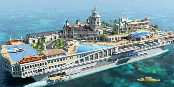 Perahu Termahal di Dunia 04 (The Street Of Monaco) - Finansialku