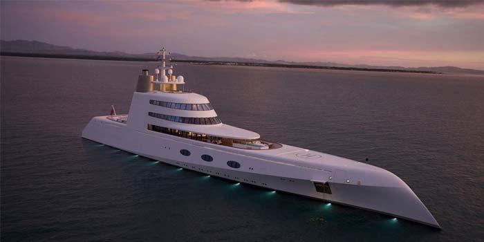 Perahu Termahal di Dunia 05 (Motor Yatch) - Finansialku