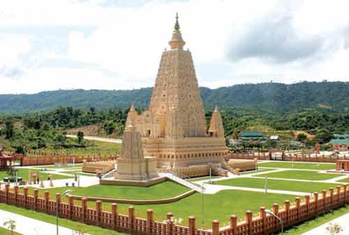 Tempat Wisata Myanmar 04 (Thatta Thattaha Maha Bawdi Pagoda) - Finansialku