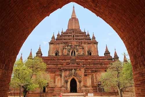 Tempat Wisata Myanmar 09 (Sulamani Guphaya Temple) - Finansialku