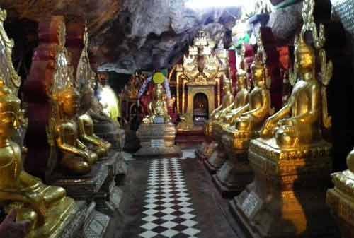 Tempat Wisata Myanmar 11 (Shwe Oo Min Paya) - Finansialku
