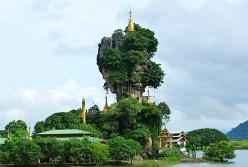 Tempat Wisata Myanmar 18 (Kyauk Ka Lat Pagoda) - Finansialku