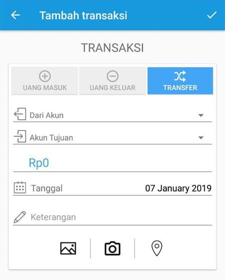 Transaksi Catat Keuangan Aplikasi Finansialku 5