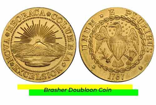Uang Kuno Termahal 06 (Brasher Doubloon Coin) - Finansialku
