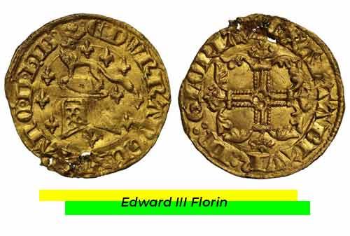 Uang Kuno Termahal 07 (Edward III Florin) - Finansialku
