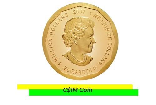 Uang Kuno Termahal 08 (C$1M Coin) - Finansialku