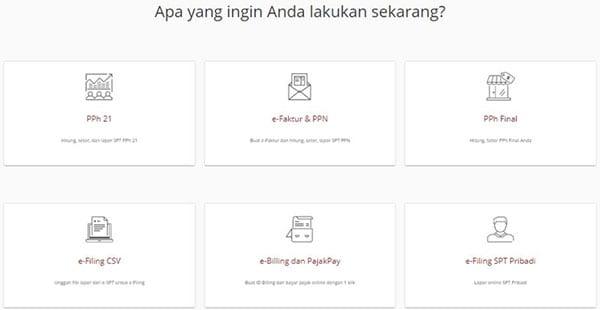 Baru Dapat NPWP Akhir Tahun, Bagaimana Lapor Pajaknya 03 Pilih e-Filing SPT Pribadi - Finansialku