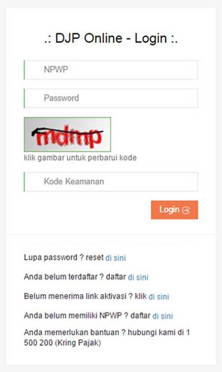 Bayar Pajak Online Melalui E-Billing Ternyata Mudah! 03 Login Website DJP Online - Finansialku