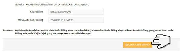 Bayar Pajak Online Melalui E-Billing Ternyata Mudah! 08 Cetak Kode Billing - Finansialku