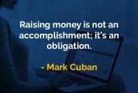 Kata-kata Bijak Mark Cuban Mengumpulkan Uang - Finansialku