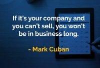 Kata-kata Bijak Mark Cuban Tidak Bisa Menjual - Finansialku