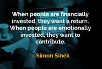 Kata-kata Bijak Simon Sinek Ketika Orang Berinvestasi - Finansialku