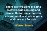 Kata-kata Bijak Warren Bennis Cara Untuk Menjadi Kreatif - Finansialku