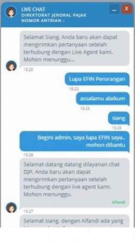 Lupa Password dan EFIN Pajak Saat Lapor SPT Online Begini Solusinya! 02 Live Chat - Finansialku