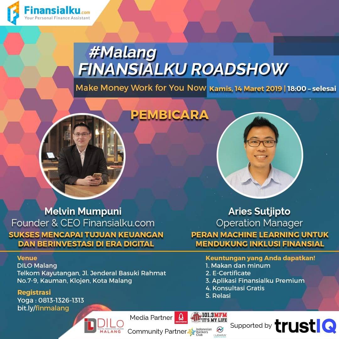 Finansialku Roadshow Malang 14 Maret 2019