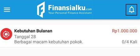 Transaksi Berulang Aplikasi Finansialku 4
